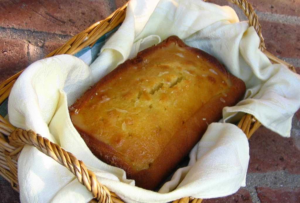 Sour Cream Pound Cake by Edna Yates - Silver Spurs Club Pound Cake