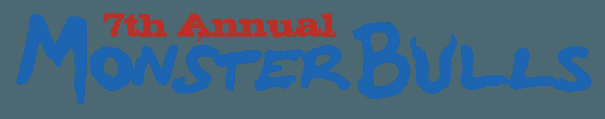 Monster Bulls Logo - Silver Spurs Rodeo