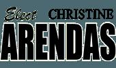 Elect Christine Arendas - Silver Spurs Rodeo Sponsor