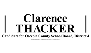 Clarence Thacker Sponsor - Silver Spurs Rodeo