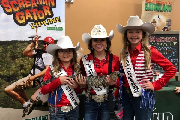 Miss Silver Spurs in the Community