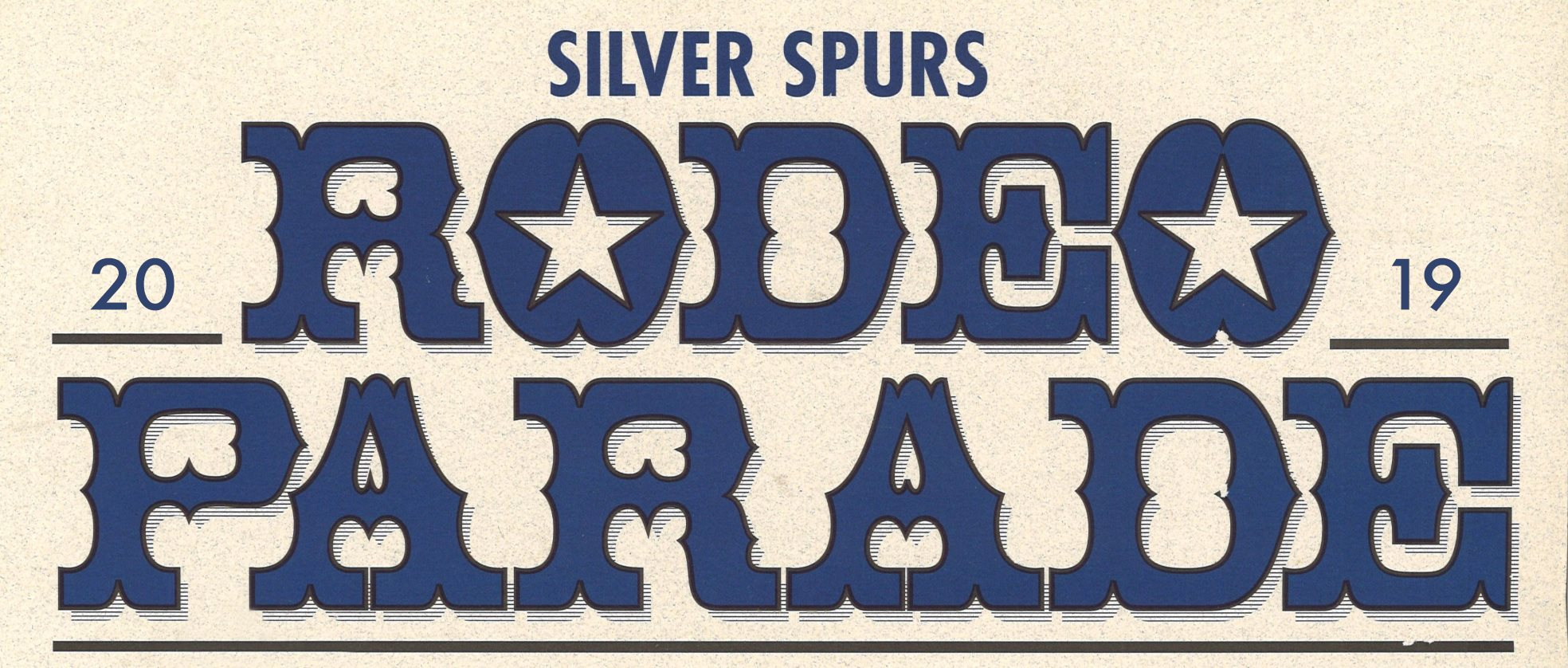 Silver Spurs Rodeo 75th Anniversary Parade