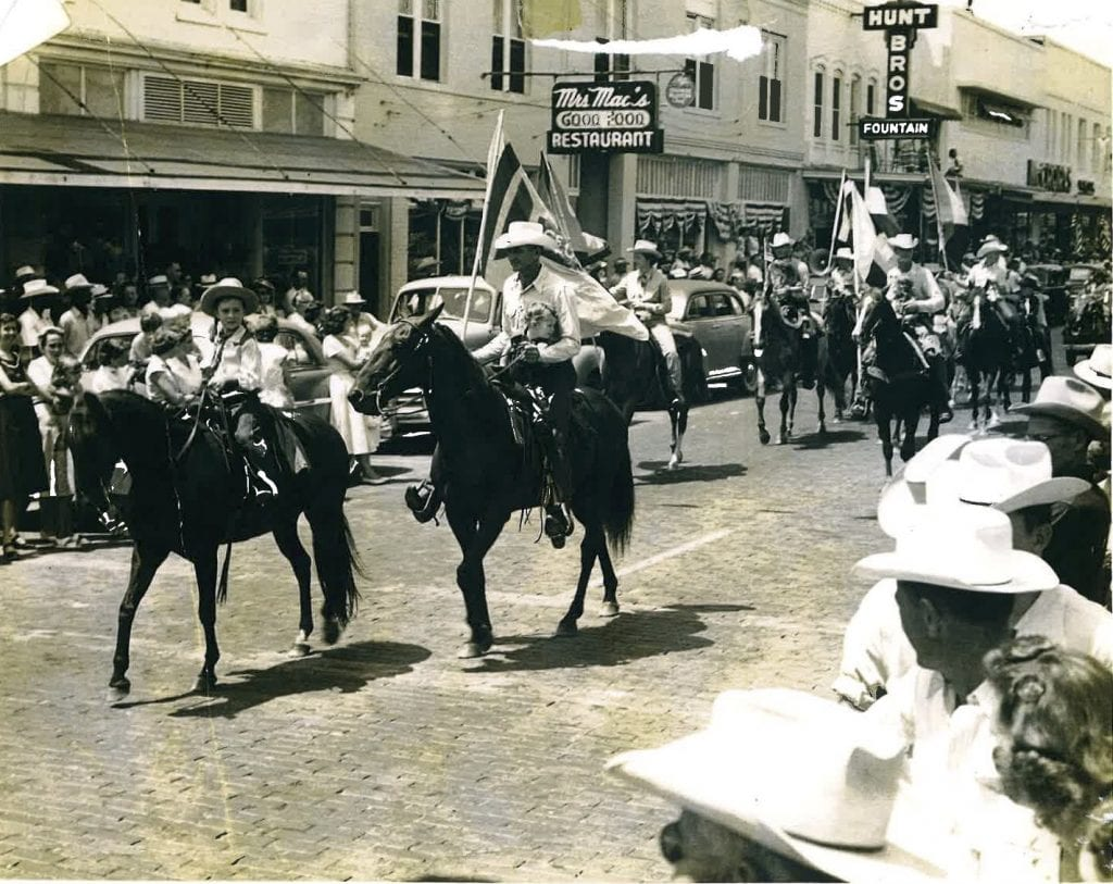 Silver Spurs Rodeo Parade