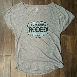 Ladies' Gray Buckle T-Shirt